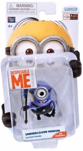 Despicable Me Minion Made Poseable 2 Inch Action Figure Undercover Minion