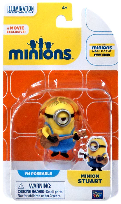 Minion Stuart Figure Minion Stuart Action Figure