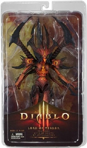 Diablo III NECA Deluxe Action Figure Diablo Lord of Terror New!