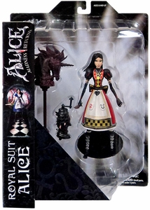 Diamond Select Toys Alice: Madness Returns Exclusive Action Figure Royal Guard Alice