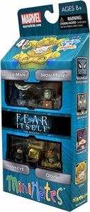Diamond Select Toys Marvel Minimates Exclusive 4-Pack Fear Itself The Mighty [Hawkeye, Iron Man, Spider-Man & Odin] BLOWOUT SALE!