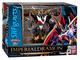 Digimon Bandai S.H. Figuarts Action Figure Imperialdramon [Fighter Mode] New!