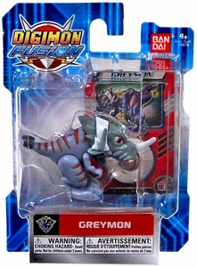 Digimon Fusion Action Figure Greymon