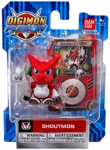 Digimon Fusion Action Figure Shoutmon