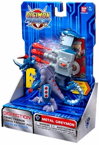 Digimon Fusion Deluxe Digi-Action Figure Metalgraymon
