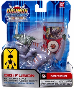 Digimon Fusion Digi-Fusion Action Figure Greymon