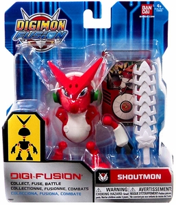 Digimon Fusion Digi-Fusion Action Figure Shoutmon