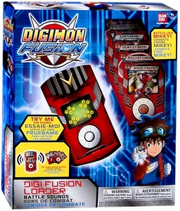 Digimon Fusion Toy Digi-Fusion Loader [Battle Sounds!]