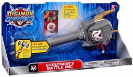 Digimon Fusion Toy Shoutmon's Battle Mic