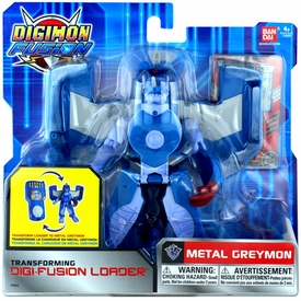 Digimon Fusion Transforming Digi-Fusion Loader Action Figure Metal Greymon