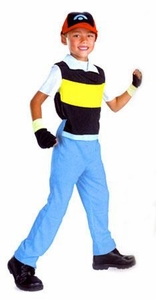Disguise Pokemon Costume #6983 Ash Ketchum [Child Size Extra Small 3T-4T]