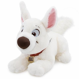 Disney Bolt Movie Exclusive 14 Inch Deluxe Plush Figure Bolt [Lying Down]