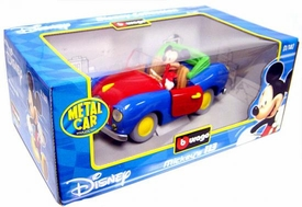 Disney Burago 1/18 Scale DieCast Car Mickey Mouse