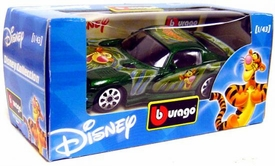 Disney Burago 1/43 Scale DieCast Car Tigger [Green Paint Job]