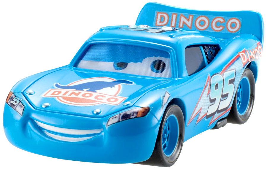 Dinoco Lightning Mcqueen Coloring Pages
