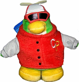Disney Club Penguin 6.5 Inch Series 12 {Holiday} Plush Figure Rookie [Includes Coin with Code!]