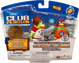 Disney Club Penguin Series 11 Mix 'N Match Mini Figure Pack I Love My Puffle T-Shirt & Puffle Apron [Includes Coin with Code!]