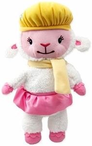 Disney Doc McStuffins 9 Inch Holiday Plush Lambie [Scarf & Hat]