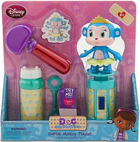 Disney Doc McStuffins Exclusive Bubble Monkey Playset