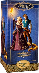 Disney Exclusive 11.5 Inch Fairytale Designer Collection Doll Set Rapunzel & Flynn Rider