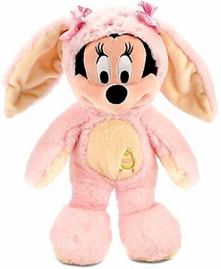 Disney Exclusive 12 Inch Plush Minnie Mouse Bunny [Pink & Yellow Costume]