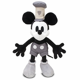 Disney Exclusive 18 Inch Deluxe Plush Figure Steamboat Mickey Mouse