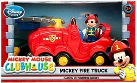Disney Exclusive Mickey Mouse Clubhouse Mickey Fire Truck Playset New!