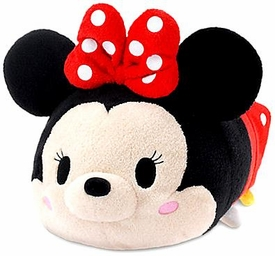 Disney Exclusive Tsum Tsum 11 Inch Medium Plush Minnie Mouse New!