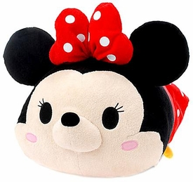 Disney Exclusive Tsum Tsum 17 Inch Large Plush Minnie Mouse New!
