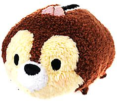 Disney Exclusive Tsum Tsum 3.5 Inch Mini Plush Chip New!