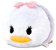 Disney Exclusive Tsum Tsum 3.5 Inch Mini Plush Daisy Duck New!