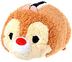 Disney Exclusive Tsum Tsum 3.5 Inch Mini Plush Dale New!
