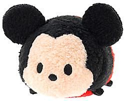 Disney Exclusive Tsum Tsum 3.5 Inch Mini Plush Mickey Mouse New!