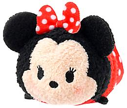 Disney Exclusive Tsum Tsum 3.5 Inch Mini Plush Minnie Mouse New!