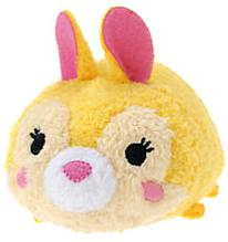 Disney Exclusive Tsum Tsum 3.5 Inch Mini Plush Miss Bunny New!