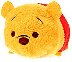 Disney Exclusive Tsum Tsum 3.5 Inch Mini Plush Winnie the Pooh New!