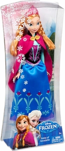 Disney Frozen 11 Inch Sparkle Princess Fashion Doll Anna of Arendelle New!