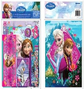 Disney Frozen 11-Piece School Set Pre-Order ships October
