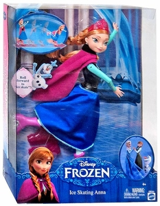 Disney Frozen 12 Inch Doll Ice Skating Anna