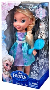 Disney Frozen 12 Inch Doll Toddler Elsa [New Royal Reflection Eyes] New!