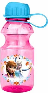 Disney Frozen 14 Oz Anna & Elsa Tritan Water Bottle