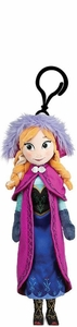 Disney Frozen 5 Inch Plush Clip-On Anna Pre-Order ships September