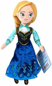 Disney Frozen 8 Inch Talking Bean Bag Plush Figure Anna New!