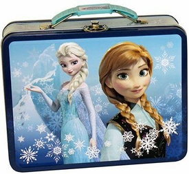 Disney Frozen Anna & Elsa Carry All Tin New!