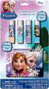 Disney Frozen Anna & Elsa Lip Balm & Tin New!