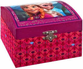 Disney Frozen Anna & Elsa Musical Jewelry Box