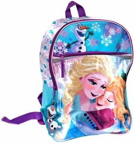 Disney Frozen Anna, Elsa & Olaf Satin Backpack