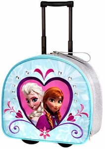 Disney Frozen Anna & Elsa Rolling Luggage