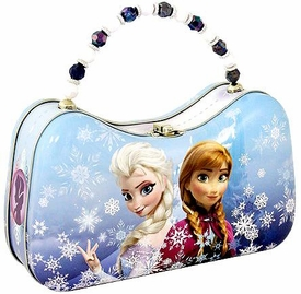 Disney Frozen Anna & Elsa Scoop Tin Purse [Random Cover Design]