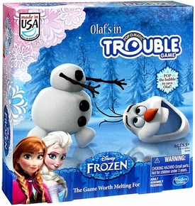 Disney Frozen Board Game Olaf's In Trouble